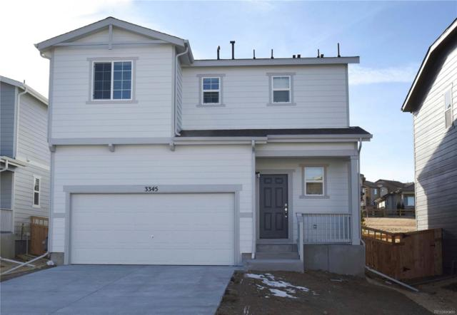 3345 Evening Place, Castle Rock, CO 80109 (#6994355) :: The HomeSmiths Team - Keller Williams