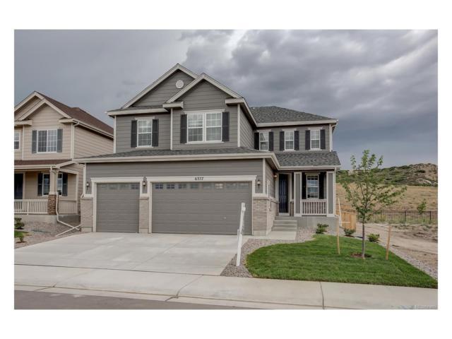 6357 Agave Avenue, Castle Rock, CO 80108 (MLS #7002739) :: 8z Real Estate