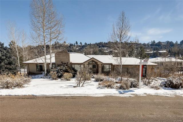 6064 Meadowbrook Drive, Morrison, CO 80465 (#7017290) :: James Crocker Team