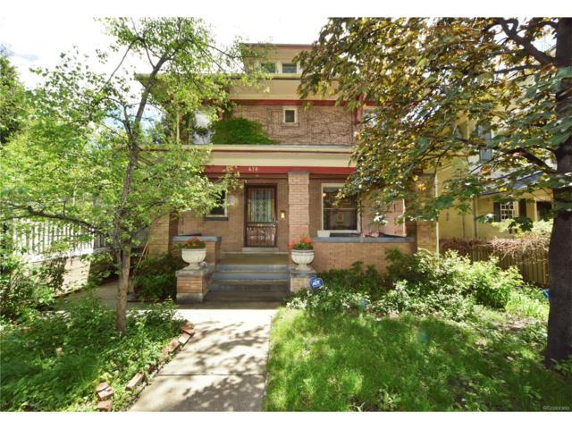 678 Downing Street, Denver, CO 80218 (MLS #7034072) :: 8z Real Estate