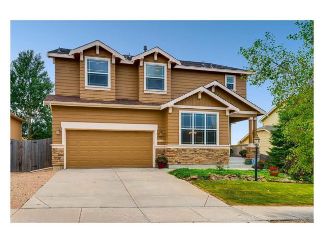 5525 Whiskey River Drive, Colorado Springs, CO 80923 (MLS #7074665) :: 8z Real Estate