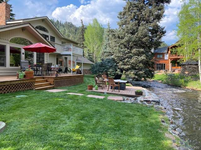 32684 Upper Bear Creek Road, Evergreen, CO 80439 (MLS #7077660) :: Clare Day with LIV Sotheby's International Realty