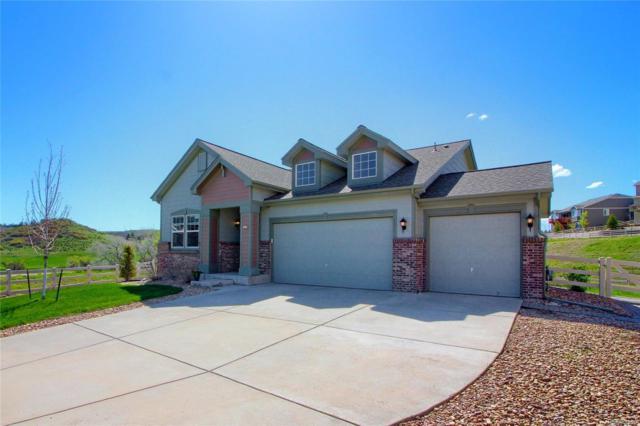 5421 Clearbrooke Court, Castle Rock, CO 80104 (#7113442) :: House Hunters Colorado