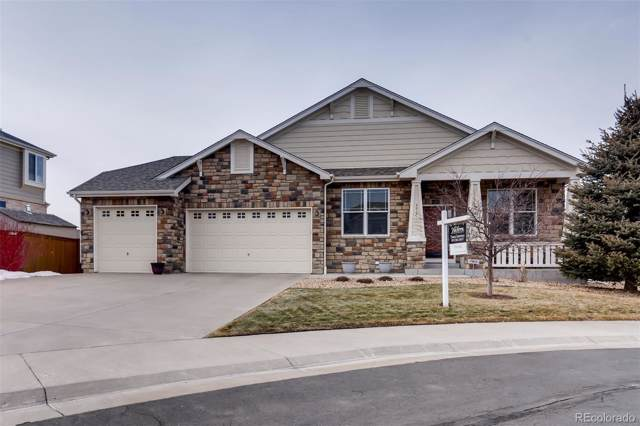 5215 S Haleyville Way, Aurora, CO 80016 (#7154908) :: Berkshire Hathaway Elevated Living Real Estate