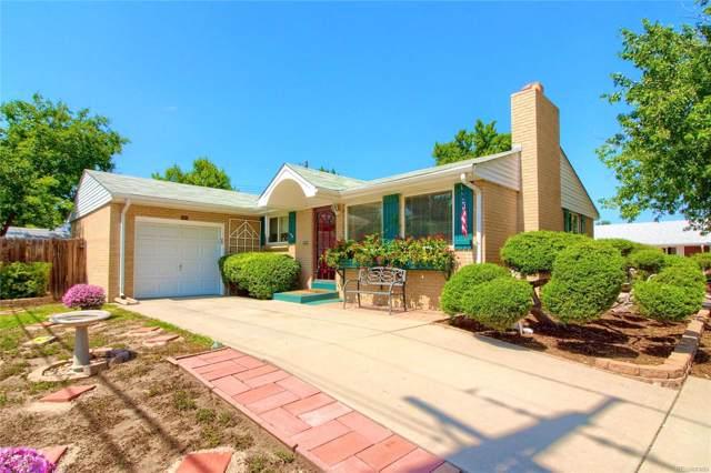 1891 S Xavier Street, Denver, CO 80219 (MLS #7157706) :: 8z Real Estate