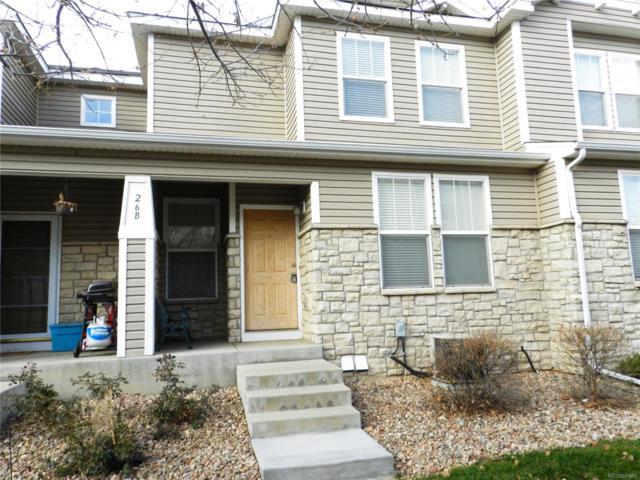 9758 Laredo Street 26B, Commerce City, CO 80022 (#7163501) :: The Peak Properties Group