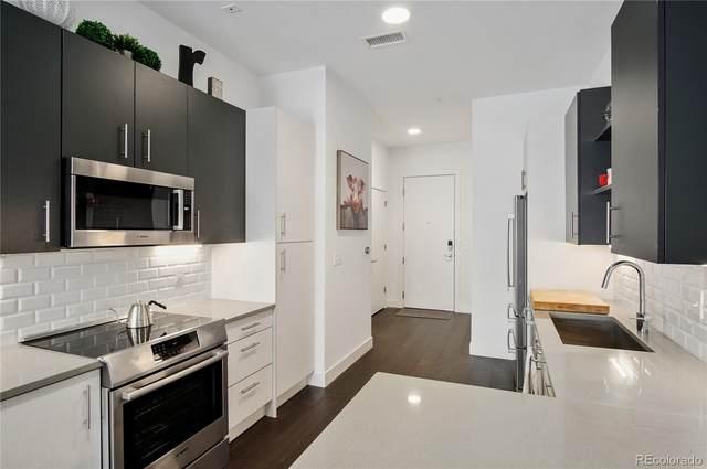 2525 Arapahoe Street Rd205, Denver, CO 80205 (MLS #7179855) :: 8z Real Estate