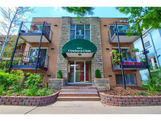 1063 Clarkson Street #4, Denver, CO 80218 (MLS #7229811) :: 8z Real Estate