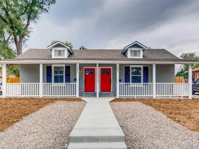 207 N Hazel Court, Denver, CO 80219 (MLS #7233628) :: 8z Real Estate