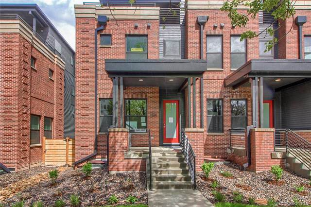 1368 N Vine Street Parcel 10, Denver, CO 80206 (#7250680) :: The DeGrood Team