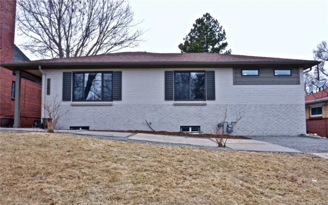 1285 Hudson Street, Denver, CO 80220 (#7257411) :: The Heyl Group at Keller Williams