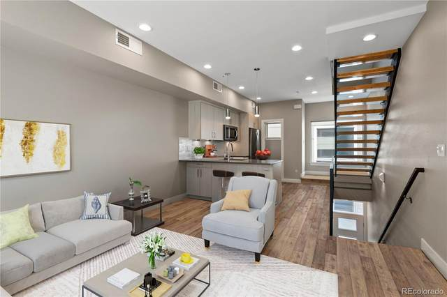 4477 Tennyson Street #5, Denver, CO 80212 (#7272065) :: The Scott Futa Home Team