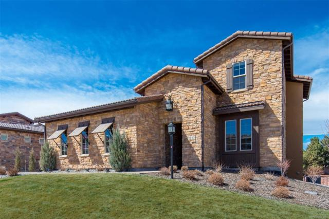 9343 Vista Hill Lane, Lone Tree, CO 80124 (#7289854) :: The HomeSmiths Team - Keller Williams