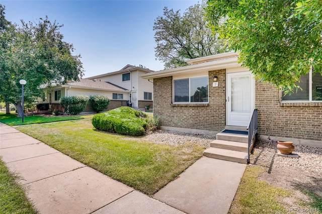 9005 E Lehigh Avenue #9, Denver, CO 80237 (#7295176) :: The Griffith Home Team