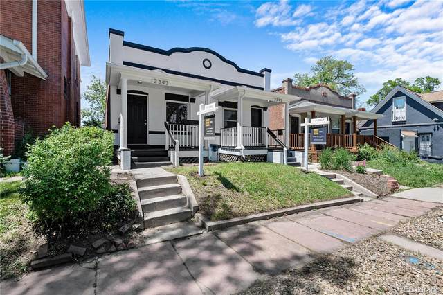 2343 N Downing Street, Denver, CO 80205 (#7368747) :: The Griffith Home Team