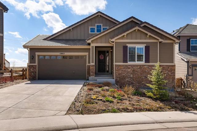 13863 Ashgrove Circle, Parker, CO 80134 (MLS #7374923) :: 8z Real Estate