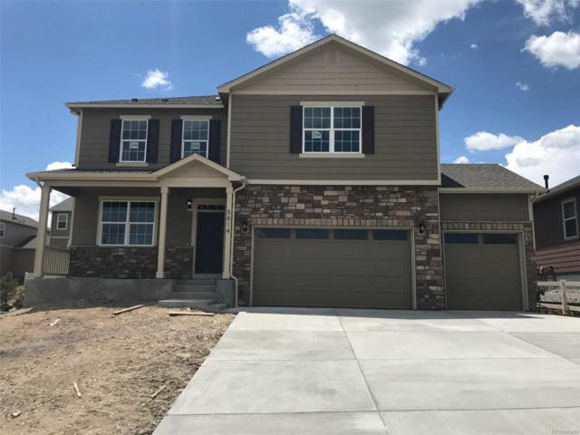 5814 High Timber Circle, Castle Rock, CO 80104 (#7376588) :: The HomeSmiths Team - Keller Williams