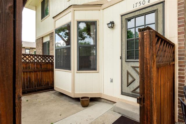 1750 S Ammons Street C, Lakewood, CO 80232 (MLS #7395014) :: 8z Real Estate
