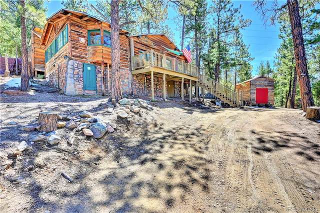 34407 Mineral Lane, Pine, CO 80470 (#7401949) :: The Colorado Foothills Team | Berkshire Hathaway Elevated Living Real Estate