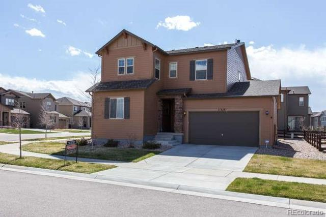 11681 Jutland Street, Parker, CO 80134 (#7402633) :: The Peak Properties Group