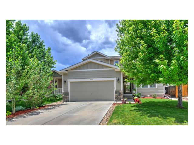 4367 S Garland Way, Littleton, CO 80123 (MLS #7418444) :: 8z Real Estate