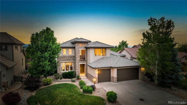 9645 Sunset Hill Drive, Lone Tree, CO 80124 (#7424433) :: The Colorado Foothills Team   Berkshire Hathaway Elevated Living Real Estate