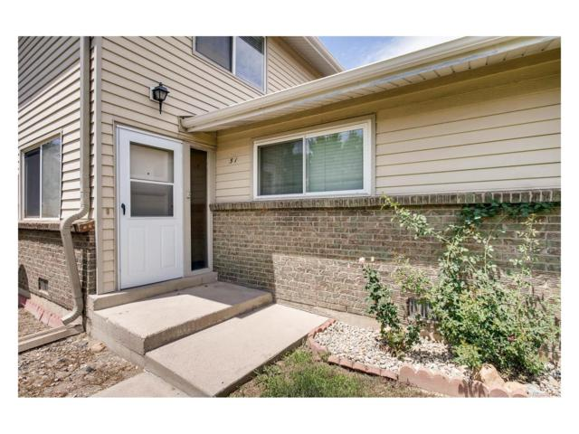 3354 S Flower Street #51, Lakewood, CO 80227 (MLS #7430439) :: 8z Real Estate