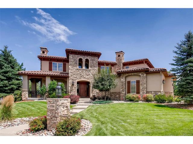9700 S Shadow Hill Circle, Lone Tree, CO 80124 (MLS #7434560) :: 8z Real Estate