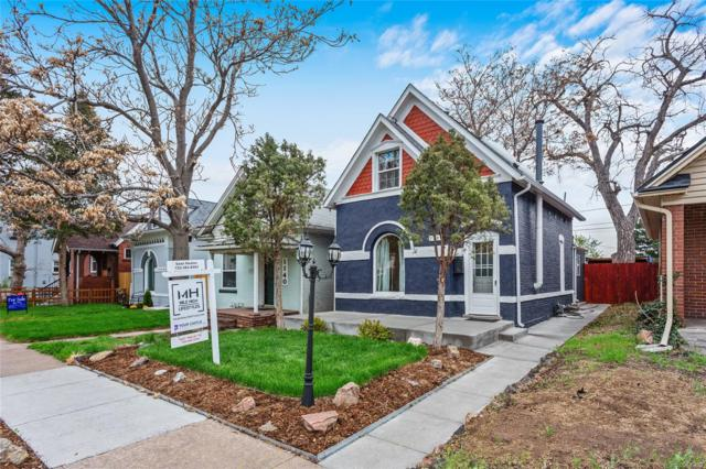 1144 S Logan Street, Denver, CO 80210 (MLS #7521440) :: 8z Real Estate