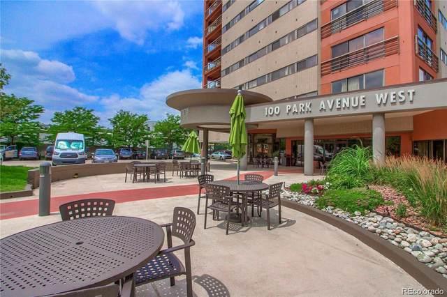 100 Park Avenue #1601, Denver, CO 80205 (#7525157) :: Chateaux Realty Group
