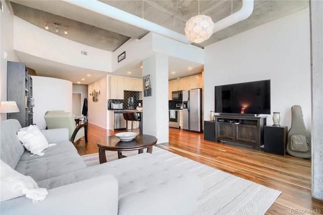 1700 Bassett Street #1116, Denver, CO 80202 (#7540772) :: West + Main Homes