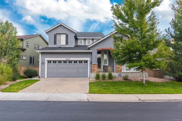 10888 Oakshire Avenue, Highlands Ranch, CO 80126 (#7543591) :: The DeGrood Team