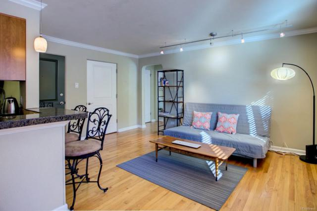 1055 E Ellsworth Avenue #11, Denver, CO 80209 (#7588745) :: The Pete Cook Home Group