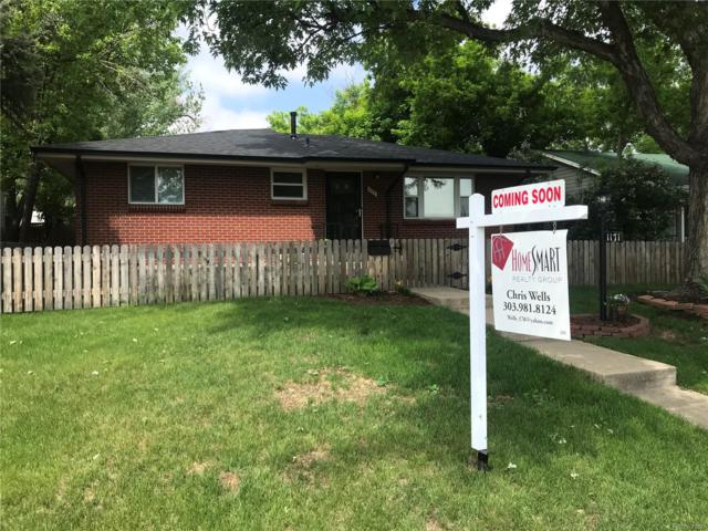 1171 Willow Street, Denver, CO 80220 (#7592267) :: The Pete Cook Home Group