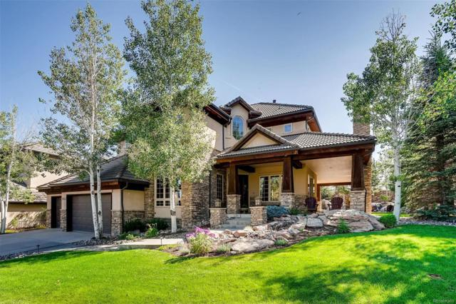 9542 E Silent Hills Place, Lone Tree, CO 80124 (#7678847) :: Mile High Luxury Real Estate