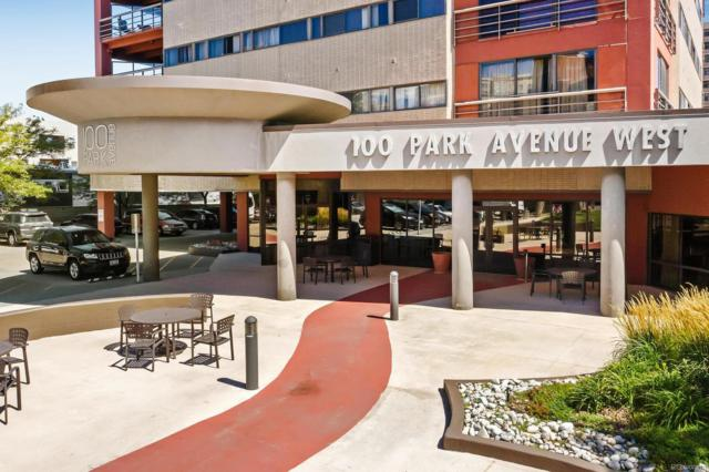 100 Park Avenue #505, Denver, CO 80205 (#7688073) :: Colorado Home Finder Realty