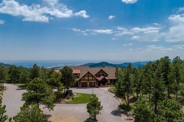 7775 Spirit Ranch Road, Golden, CO 80403 (#7703737) :: House Hunters Colorado