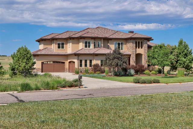 9863 Sara Gulch Circle, Parker, CO 80138 (MLS #7734344) :: Bliss Realty Group