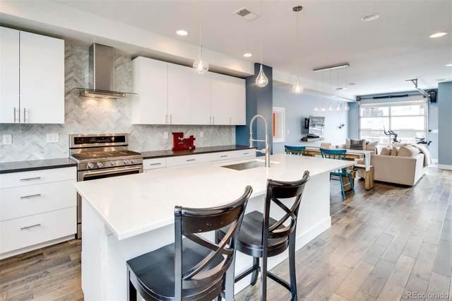 3855 E Cedar Avenue, Denver, CO 80209 (MLS #7764202) :: Kittle Real Estate