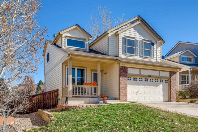 942 Riddlewood Road, Highlands Ranch, CO 80129 (#7778140) :: The Heyl Group at Keller Williams