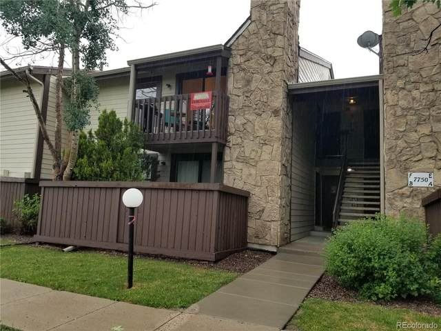 7750 W 87th Drive F, Arvada, CO 80005 (#7803355) :: The DeGrood Team
