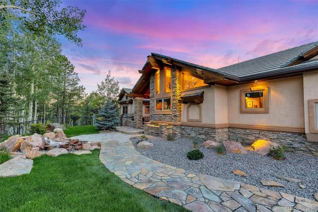 11750 Woodland Road, Woodland Park, CO 80863 (#7831107) :: James Crocker Team