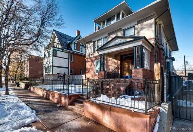 1331 Columbine Street, Denver, CO 80206 (#7877279) :: The HomeSmiths Team - Keller Williams