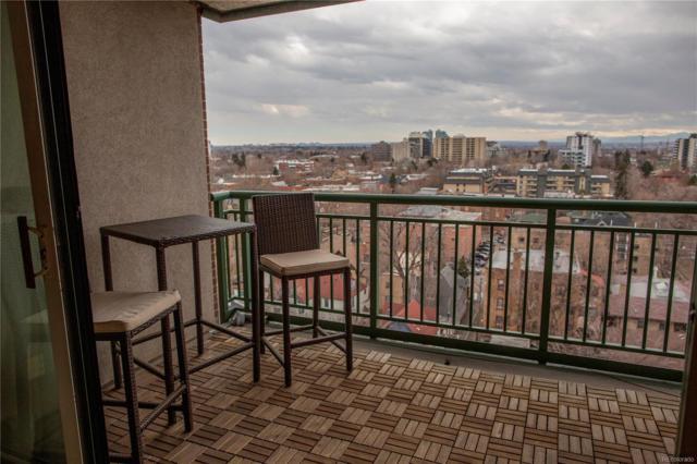 550 E 12th Avenue #1205, Denver, CO 80203 (#7891120) :: James Crocker Team