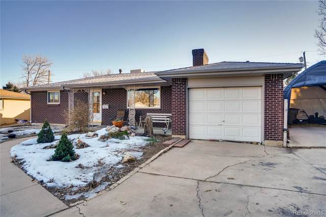 1672 S Balsam Court, Lakewood, CO 80232 (#7895314) :: The Dixon Group