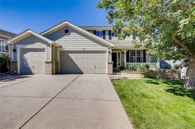 1167 Berganot Trail, Castle Pines, CO 80108 (#7910863) :: The Brokerage Group