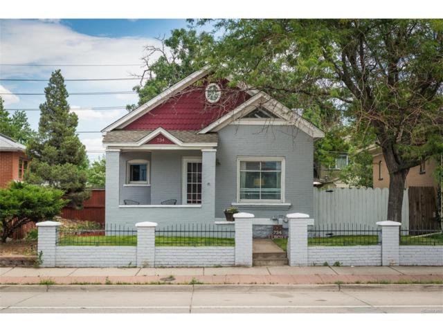 734 S Lincoln Street, Denver, CO 80209 (MLS #7936376) :: 8z Real Estate