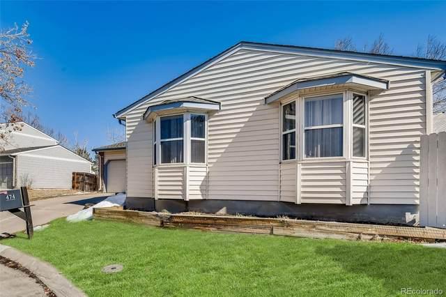 474 S Kingston Circle, Aurora, CO 80012 (#7948659) :: Venterra Real Estate LLC