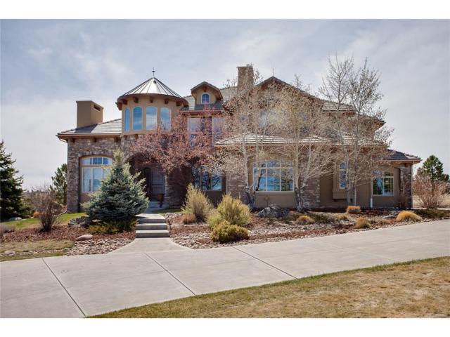 9610 Sara Gulch Circle, Parker, CO 80138 (MLS #7952467) :: 8z Real Estate