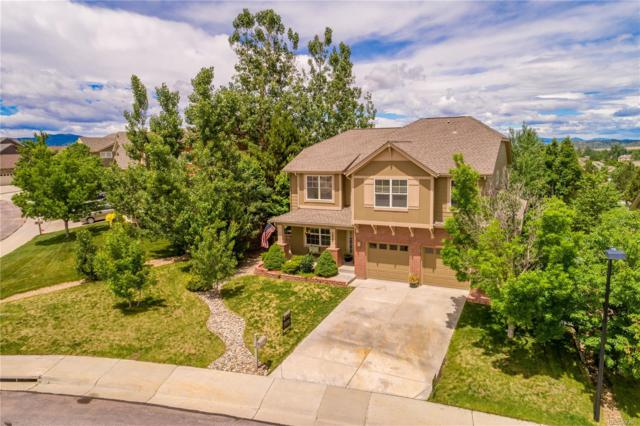 3925 Broadview Place, Castle Rock, CO 80109 (#7969654) :: The HomeSmiths Team - Keller Williams